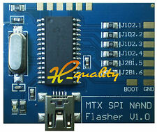 Matrix Nand Programmer Mtx SPI Nand Flasher V1.0 Programador USB rápido SPI NAND