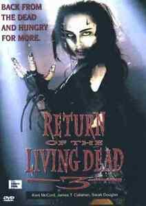 Return of the Living Dead 3 - 1993 Horror - Kent McCord, James T. Callahan - DVD