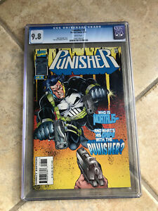 THE PUNISHER Vol. 2 #8 cgc 9.8 1996 Series - Featuring MORTALIS