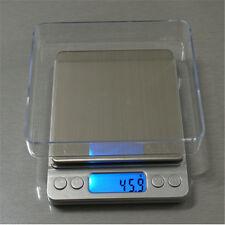 0.1g-3000g Précision de Balance Électronique Pèse Bijoux Digital Scale  Deco