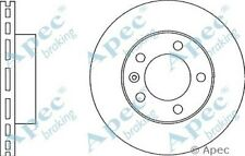 1x OE Quality Replacement Front Axle Apec Vented Brake Disc 5 Stud 302mm - Pair