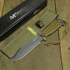 "10 1/2"" Tactical Combat Survival Full Tang Fixed Blade Knife With Sheath New!"