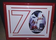 "1998 MARK MCGWIRE ""70"" CUSTOM FRAMED PHOTO 16 X 20"" CARDINALS HOME RUN RECORD"