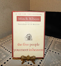 MITCH ALBOM~#1 NEW YORK TIMES BESTSELLER~THE FIVE PEOPLE YOU MEET IN HEAVEN