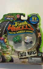 Trash Wheels Series 1 Skid Marks Green  Doggie Doo   and White Tear Away 2012
