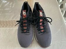 Adidas Bounce Athletic Men's Running Shoes & Sneakers Gray & Black Size 14 1/2