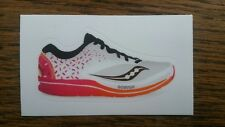 2018 Saucony Kinvara 9 Dunkin Donuts Boston Marathon Edition Sticker! Not S