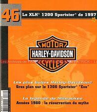 HARLEY DAVIDSON XLH 1200 Sportster Evo 1997 ; HD Les Années 80 MOTO