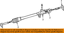 CHRYSLER OEM Steering Gear-Outer Tie Rod End 4106180
