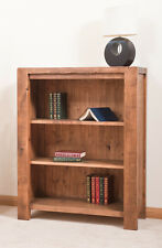 SOLID  RUSTIC SAWN PLANK BOOKCASE | Hand-waxed | Handmade to Order