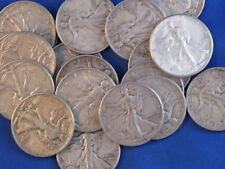 1943-P Liberty Walking Half Dollar VF-XF+ Roll Of 20 B5045