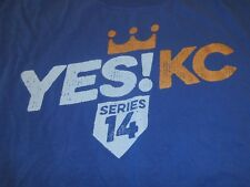 2014 Kansas City Royals World Series Shirt Size Large Party Like It's 1985