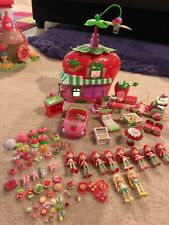 Strawberry Shortcake Dolls Hasbro Berry Cafe Scooter Car Pets Food 100+