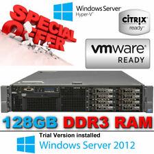 "Dell PowerEdge R710 2x6-Core XEON X5675 3.06GHz 128GB DDR3 H700 2x2.5"" Caddy SAS"