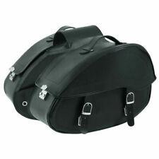 A-Pro Doppia Borsa per Sella della Motocicletta Resistente 50 x 33 x 20 cm - Nera