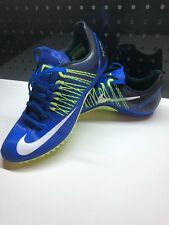 Nike Zoom Celar 5 Sprint Track Shoes Men's Sz 9.5 Spikes Blue Green 629226-413