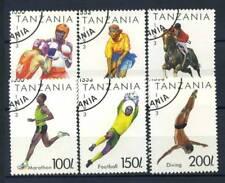 Tanzania 1993 Mi. 1467-1473 Usato 100% Sport