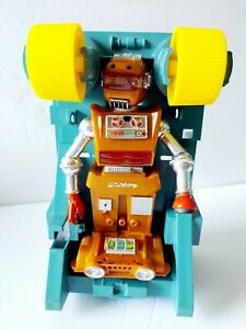 FOR PARTS OR REPAIR Vintage 1968 Ideal Zeroids Zobor Robot Toy