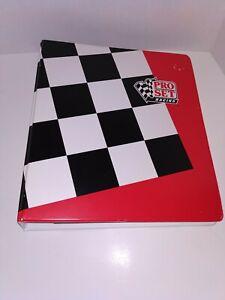 NHRA Pro Set Racing Trading Card Binder 1991 Near Complete Set (Only missing 1)