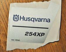 New Original Husqvarna OEM 254 xp sticker decal 254xp