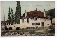 SUISSE SWITZERLAND Canton du JURA BONCOURT la maison du peuple belle carte coul.