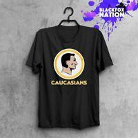 Caucasian TShirt Funny Vintage Caucasians Tee Retro Tumblr Tee Printed Tee Shirt