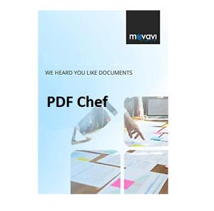 New : Movavi PDF Chef , PDF Editor Converter