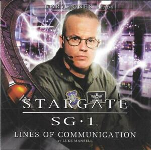 Big Finish Stargate SG1 Lines Of Communication Gary Jones Audio CD