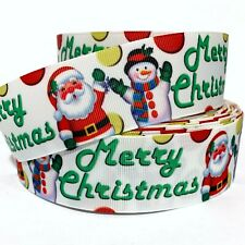"B5 Grosgrain Ribbon Christmas Girls Candy Cane 1.5/"" Printed USA SELLER"