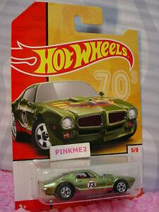 '73 PONTIAC FIREBIRD #5☆ green;red ☆2019 Hot Wheels Target THROWBACK s2
