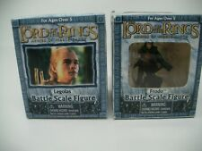 "Lord Of The Rings Armies Of Middle Earth Frodo & Legolas 2"" Action Figures NEW"