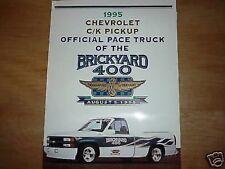 1995 CHEVROLET C/K PICKUP PACE TRUCK PRESS KIT RARE