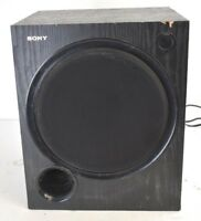 "Sony SA-WMSP69 10"" Powered Subwoofer Untested"