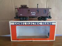 Lionel, NYC,  #6-17600, Wood-sided Caboose, OB