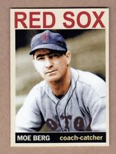 Moe Berg '46 Boston Red Sox Monarch Corona Private Stock #49