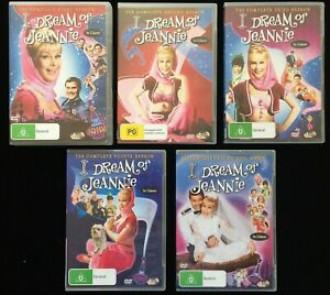 I Dream of Jeannie Complete Series 1, 2, 3, 4, & 5 (1965-1970)  20 DVDs Boxed