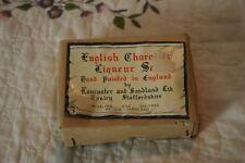 Vintage Miniature Lancaster and Sandland English Character Liqueur Set In Box