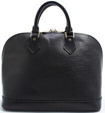 Louis Vuitton Sac EPI ALMA Tasche Bag Elegant Zeitlose SUPER Schwarz Black Noir