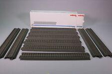 ZL015 Marklin 24236 Ho Boite 10 rail droit ballast 236,1 mm C Gerade Gleis