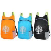 Waterproof 15L Folding Backpack Camping Hiking Rucksack Sport Daypack Travel Bag