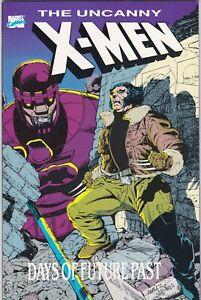 The Uncanny X-Men: Days of Future Past TPB (1989, Marvel) NM- (9.2)