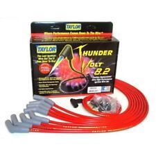 Taylor Spark Plug Wire Set 86232; ThunderVolt 8.2mm Red 135° for Chevy V8