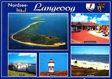 Nordseeinsel Langeoog , Ansichtskarte, 1995 gelaufen
