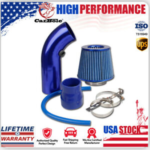 3'' Car Cold Air Intake Filter Alumimum Induction Kit Pipe Hose System Universal