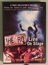 NEW YORK ! HERO THE ROCK OPERA LIVE ON STAGE   DVD 2 disc set