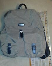 Khaki brown Baggallini Organizer Backpack Sling Bag