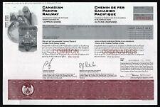 Canada: Canadian Pacific Railway - Chemin de Fer Canadien Pacifique