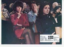 DUSTIN HOFFMAN SEXY STEFANIA SANDRELLI ALFREDO ALFREDO 1972 LOBBY CARD #2 LEGGY