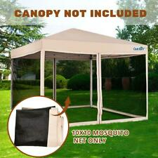 Quictent Canopy Screen Walls Replacement Netting for 10x10 Canopy Tent Gazebo