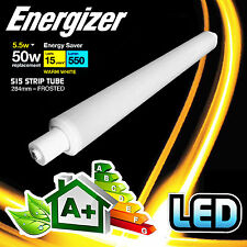 Energizer 284mm S15 5.5 WATT TUBO A LED STRISCIA LUMINOSA LAMPADA 550 LUMEN EQUIVALENTE 50W